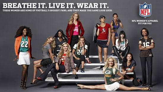 Women must speak up on NFL issues